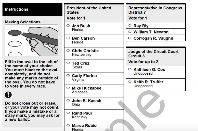 Early Voting Starts Thursday With Paper Ballots