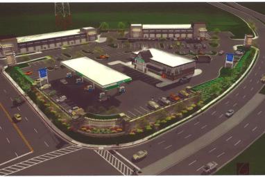 Rendering of Royal Farms at York & Bosley