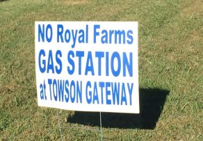 David Marks withdraws support for Royal Farms in Towson