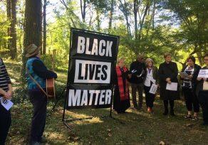 """Black Lives Matter"" banner at Towson church vandalized"