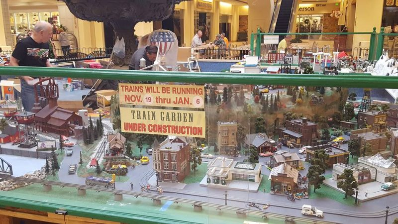 kenilworth train garden
