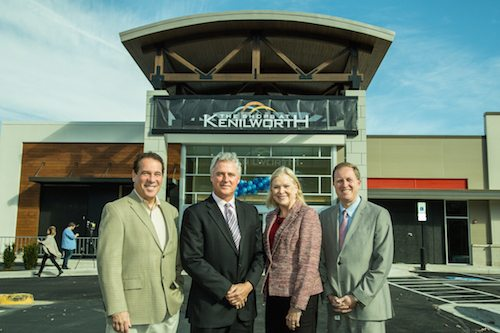Kevin Kamenetz, mall owner Brian Gibbons, Vicki Almond, David Marks
