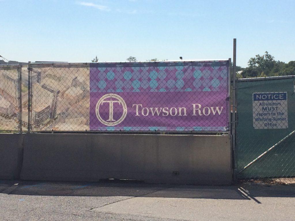 towson row