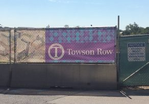 What happened to Towson Row?
