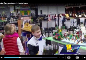 WBAL covers Pinehurst Wine Shoppe's kindness