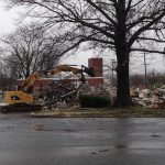 Old Towson fire station demolished
