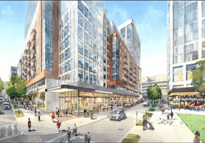 Towson Row wins approval to move forward with revised plan