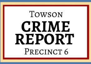 Robbery in Giant parking lot, a stolen shoe and other recent Towson crimes