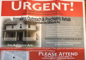 Debate over grant for homeless-outreach center in Towson stirs controversy