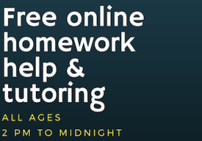 Free online tutoring available via Baltimore County Public Library