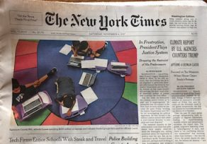 New York Times investigates BCPS' relationship with tech companies