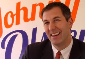 Olszewski focuses on jobs, education in County Executive run