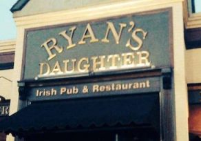Ryan's Daughter Irish Pub is closing