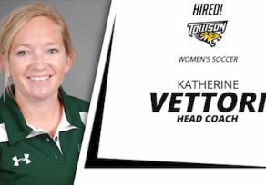 Katherine Vettori named head coach for women's soccer at Towson U